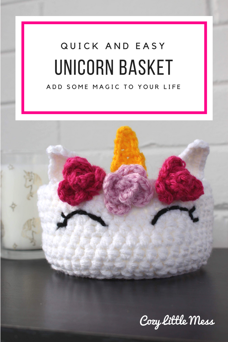 Quick and Easy Unicorn Basket