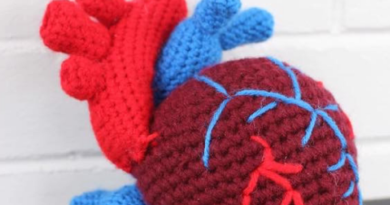 Crochet Pattern for a Human Heart