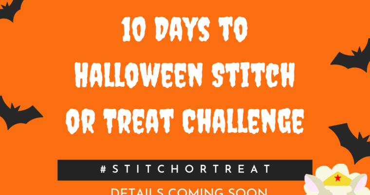 The Wonder Woolmen Present : 10 Days to Halloween Stitch or Treat Challenge