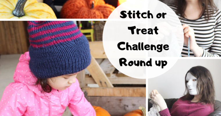 Stitch or Treat Challenge Round-Up