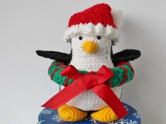 Holiday Penguin (pattern modification for The One Hugsy)